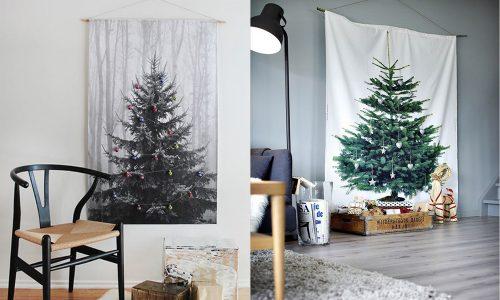 9 prachtige alternatieven voor een traditionele Kerstboom