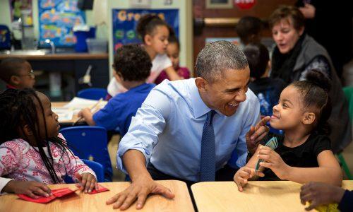 Barack Obama blijft positief: 'Er is geen betere tijd om te leven dan nu'